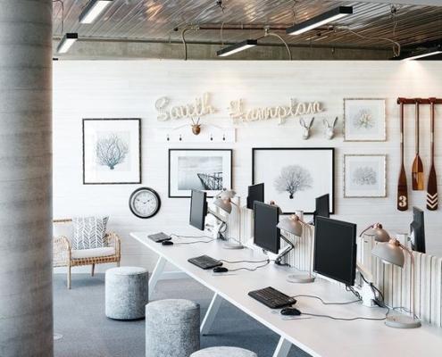 Современные тенденции дизайна офисных помещений